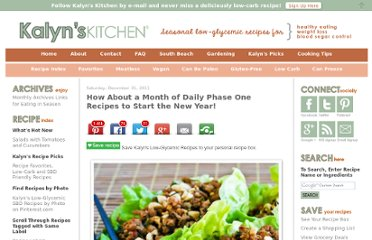 http://www.kalynskitchen.com/2011/12/how-about-month-of-daily-phase-one.html