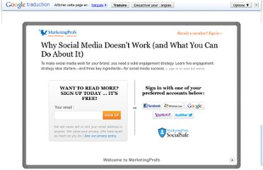 http://www.marketingprofs.com/articles/2012/7590/why-social-media-doesnt-work-and-what-you-can-do-about-it