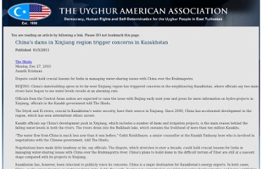 http://uyghuramerican.org/old/articles/5289/1/Chinas-dams-in-Xinjiang-region-trigger-concerns-in-Kazakhstan/index.html