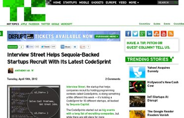 http://techcrunch.com/2012/04/10/interviewstreet-sequoia/