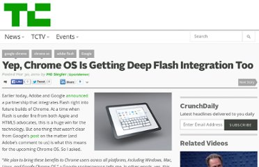 http://techcrunch.com/2010/03/30/chrome-os-flash/
