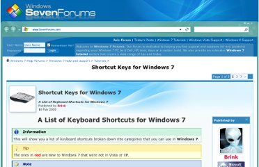 http://www.sevenforums.com/tutorials/4052-shortcut-keys-windows-7-a.html