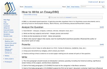 http://en.wikibooks.org/wiki/How_to_Write_an_Essay/DBQ
