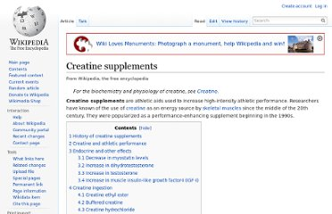 http://en.wikipedia.org/wiki/Creatine_supplements