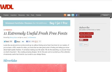 http://webdesignledger.com/freebies/11-extremely-useful-fresh-free-fonts