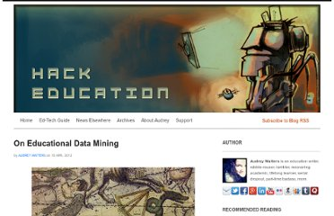 http://www.hackeducation.com/2012/04/10/the-department-of-education-on-educational-data-mining/