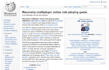 http://en.wikipedia.org/wiki/Massively_multiplayer_online_role-playing_game