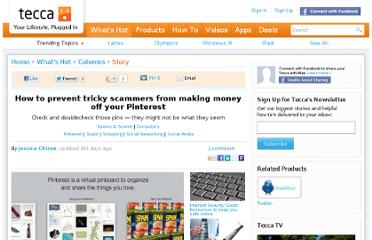 http://www.tecca.com/columns/pinterest-spams-and-scams/
