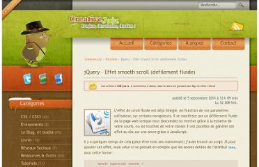 http://www.creativejuiz.fr/blog/tutoriels/jquery-effet-smooth-scroll-defilement-fluide