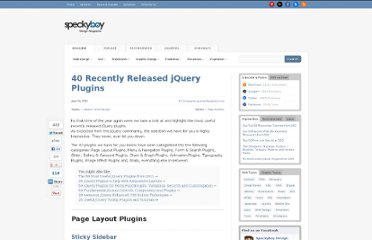 http://speckyboy.com/2012/04/10/40-recently-released-jquery-plugins/