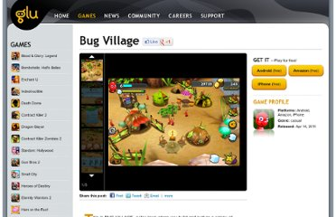 http://www.glu.com/game/bug-village