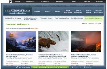 http://www.pbs.org/nationalparks/get-involved/wallpapers/