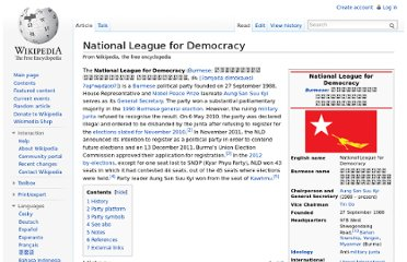 http://en.wikipedia.org/wiki/National_League_for_Democracy