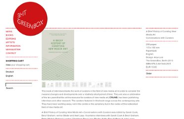 http://www.thegreenbox.net/en/books/brief-history-curating-new-media-art