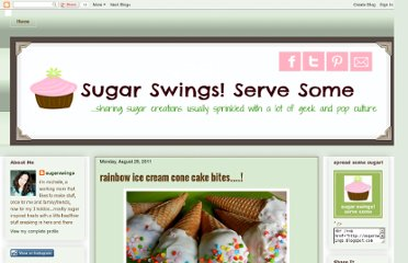http://sugarswings.blogspot.com/2011/08/rainbow-ice-cream-cone-cake-bites.html