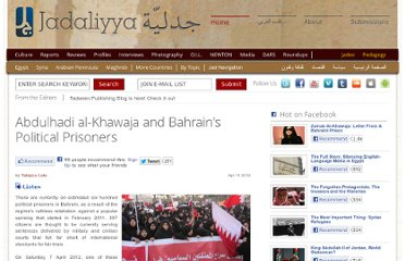 http://www.jadaliyya.com/pages/index/4990/abdulhadi-al-khawaja-and-bahrains-political-prison