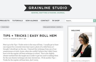 http://grainlinestudio.com/2011/08/17/tips-tricks-easy-roll-hem/