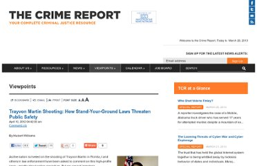 http://www.thecrimereport.org/viewpoints/2012-04-trayvon-martin-shooting-how-stand-your-ground-lawsth