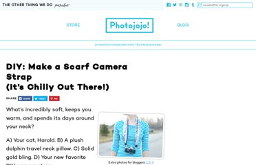 http://content.photojojo.com/diy/diy-make-a-scarf-camera-strap/