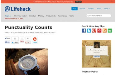 http://www.lifehack.org/articles/productivity/punctuality-counts.html