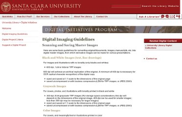 http://www.scu.edu/library/digital_initiatives/guidelines.cfm