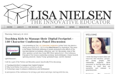 http://theinnovativeeducator.blogspot.com/2010/02/teaching-kids-to-manager-their-digital.html