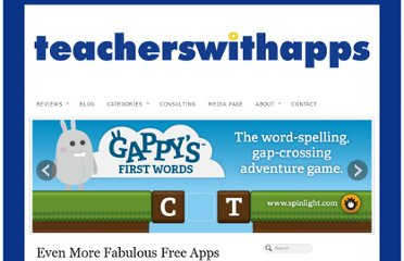 http://teacherswithapps.com/even-more-fabulous-free-apps/