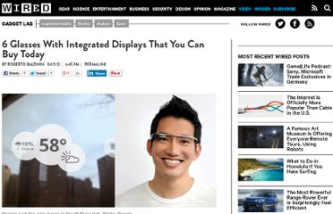 http://www.wired.com/gadgetlab/2012/04/6-glasses-with-integrated-displays-that-you-can-buy-today/