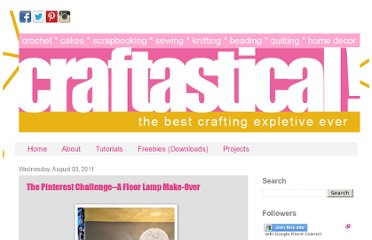 http://www.craftastical.com/2011/08/pinterest-challenge-floor-lamp-make.html