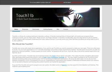 http://nuigroup.com/touchlib/