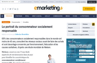 http://www.e-marketing.fr/Breves/Le-portrait-du-consommateur-socialement-responsable-45633.htm