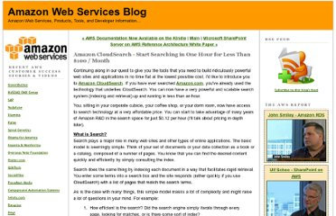 http://aws.typepad.com/aws/2012/04/amazon-cloudsearch-start-searching-in-one-hour.html
