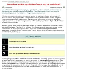 http://www.journaldunet.com/solutions/0610/061025-panorama-gestion-projets-open-source/1.shtml