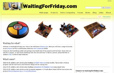 http://www.waitingforfriday.com/index.php/Home