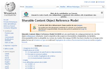 http://fr.wikipedia.org/wiki/Sharable_Content_Object_Reference_Model