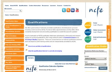 http://www.ncfe.org.uk/Qualifications.aspx