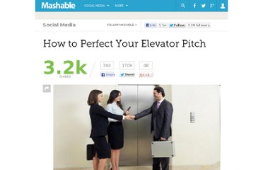 http://mashable.com/2012/04/12/elevator-pitch-advice-tips/