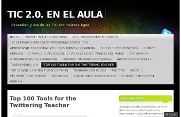 http://grupoticdeyolandaegea.wordpress.com/top-100-tools-for-the-twittering-teacher/