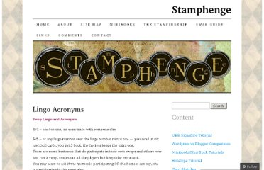 http://stamphenge.wordpress.com/swap-guide/lingo-acronyms/