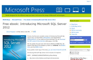 http://blogs.msdn.com/b/microsoft_press/archive/2012/03/15/free-ebook-introducing-microsoft-sql-server-2012.aspx