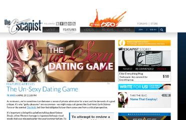 http://www.escapistmagazine.com/articles/view/features/9529-The-Un-Sexy-Dating-Game