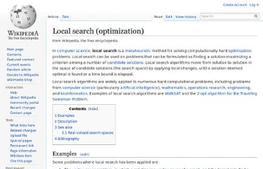http://en.wikipedia.org/wiki/Local_search_(optimization)