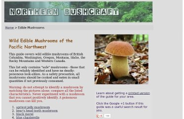 http://northernbushcraft.com/mushrooms/index.htm