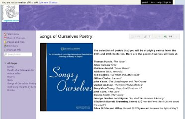http://igcseliterature-iese.wikispaces.com/Songs+of+Ourselves+Poetry