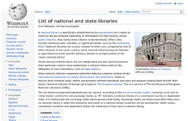http://en.wikipedia.org/wiki/List_of_national_and_state_libraries