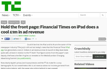 http://techcrunch.com/2010/10/12/hold-the-front-page-financial-times-on-ipad-does-a-cool-1m-in-ad-revenue/