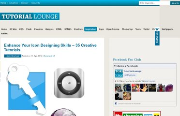 http://www.tutoriallounge.com/2012/04/enhance-your-icon-designing-skills-35-creative-tutorials/