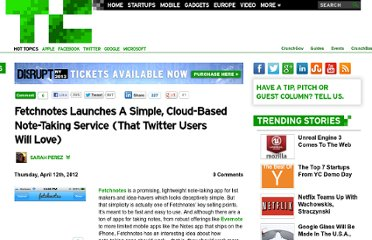 http://techcrunch.com/2012/04/12/fetchnotes-launches-a-simple-cloud-based-note-taking-service-that-twitter-users-will-love/