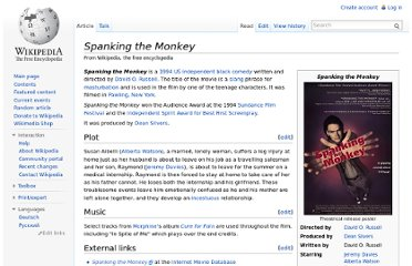 http://en.wikipedia.org/wiki/Spanking_the_Monkey