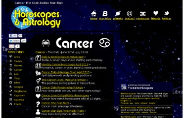 http://www.zodiac-astrology-horoscopes.com/cancer/